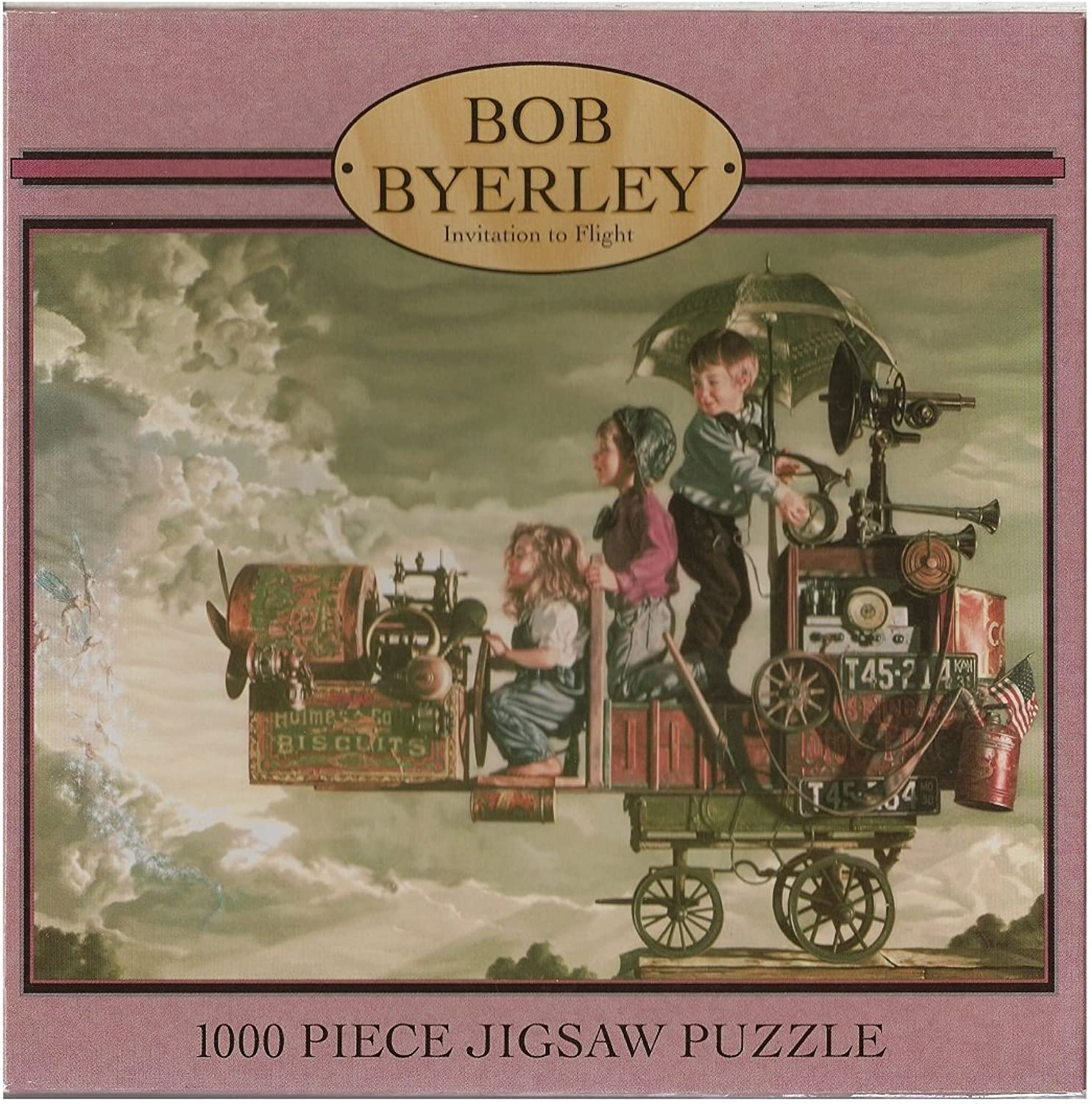 Invitation to Flight by Bob Byerley; 1000 Piece Puzzle by Ceaco