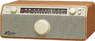 Sangean WR-12 AM/FM/Aux-In Stereo Analog Wooden Cabinet Radio (Walnut)