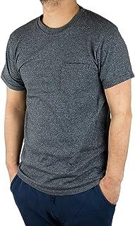 Velva Sheen 1PAC MOCK TWIST ベルバシーン ポケット付 クルーネック Tシャツ アメリカ製 ブラック