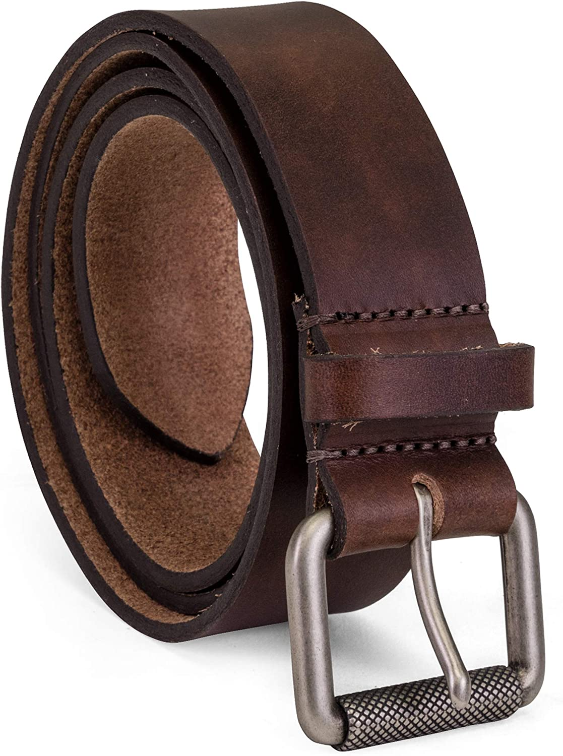 Colonial Belt Company Men's Made in The USA Casual Leather Jean Belt