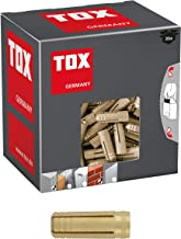TOX Messing spreidplug Metrix M6 x 22 mm, 25 stuks, 026100131