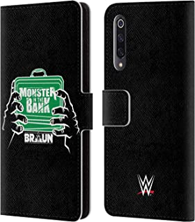 Official WWE Braun Strowman Monster in The Bank 2018/19 Superstars 4 Leather Book Wallet Case Cover Compatible for Xiaomi Mi 9