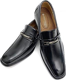Men's Slip-On Designer Dress Shoes | Leather Lined Comfort | Elegant Designer Look | Perfect Wedding & Business Dress Shoe | Available in Regular & Big & Tall Sizes