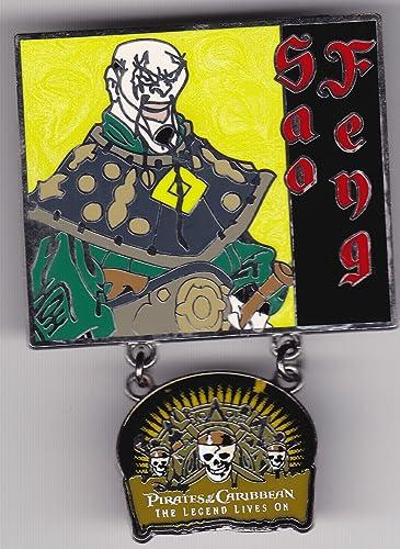 Disney Pin Limited Edition von 2.000 umeln Pin   5 n Set von 5 raten der Karibik Die Legende lebt auf mit Sao Feng aus der 2007 lease
