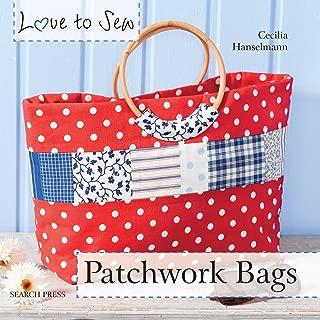 patchwork knitting bag