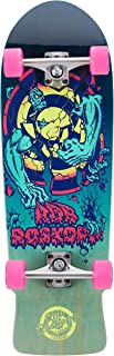 Santa Cruz Roskopp 3 80s Cruzer Complete Skateboard,Multicolored,10in L x 31.4in W