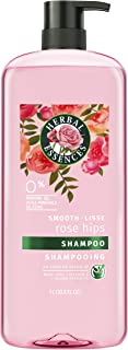 Herbal Essences Smooth Collection Shampoo with Rose Hips & Jojoba Extracts, PINK , 33.8 fl oz