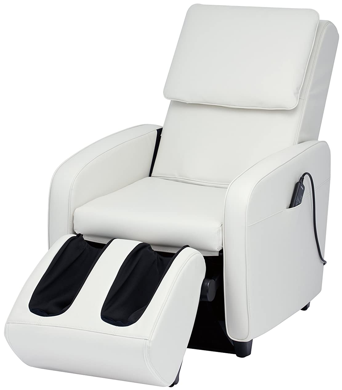 同時単なる敬なスライヴ マッサージチェア くつろぎ指定席 【SFIT エスフィット】 「つかみもみ機能搭載」 ホワイト CHD-7401(W)