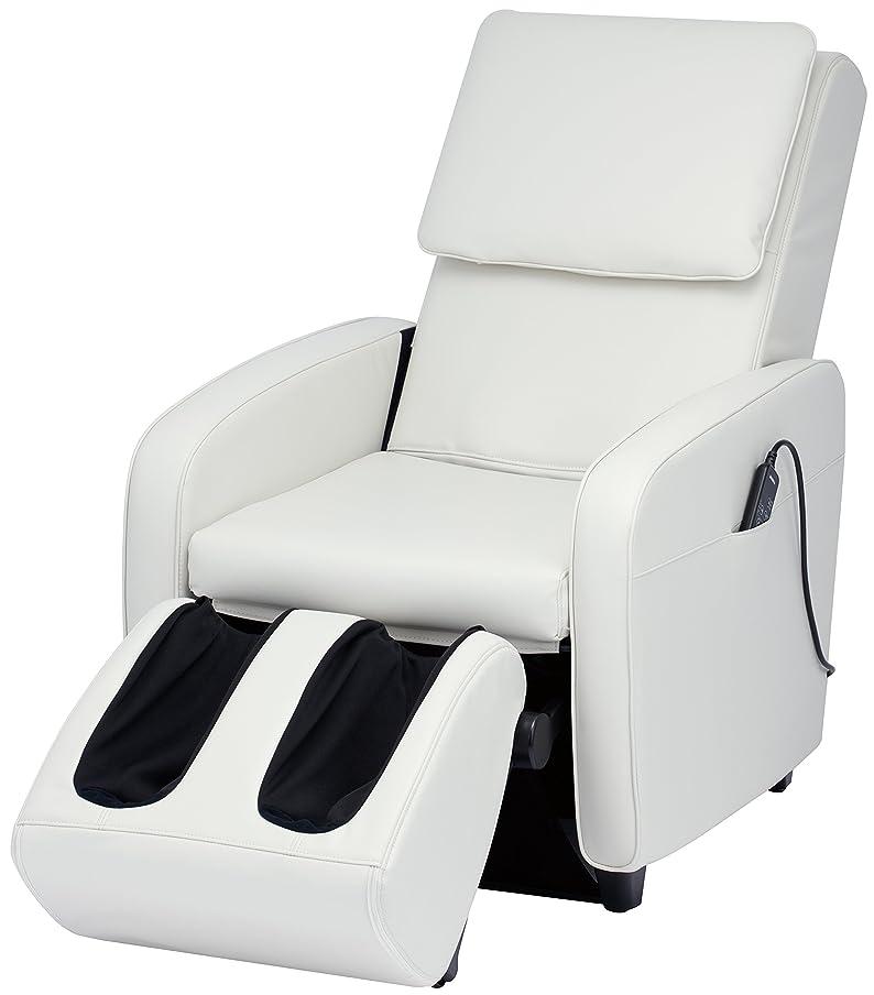 簡単に産地騒々しいスライヴ マッサージチェア くつろぎ指定席 【SFIT エスフィット】 「つかみもみ機能搭載」 ホワイト CHD-7401(W)