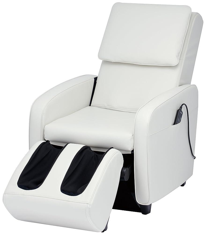 シンプルなブランドジムスライヴ マッサージチェア くつろぎ指定席 【SFIT エスフィット】 「つかみもみ機能搭載」 ホワイト CHD-7401(W)