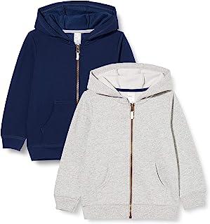 Simple Joys by Carter's 2-Pack Fleece Full Zip Hoodies Niños, Pack de 2