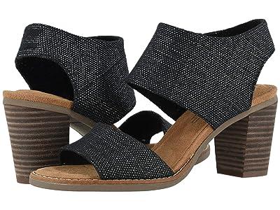 TOMS Majorca Cutout Sandal (Black) Women
