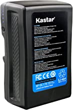 Kastar BP-GL178 Broadcast Replacement V Mount Battery, 14.8V 12000mAh 178Wh for Sony PMW-EX330K PMW-EX330L PMW-580K PMW580...