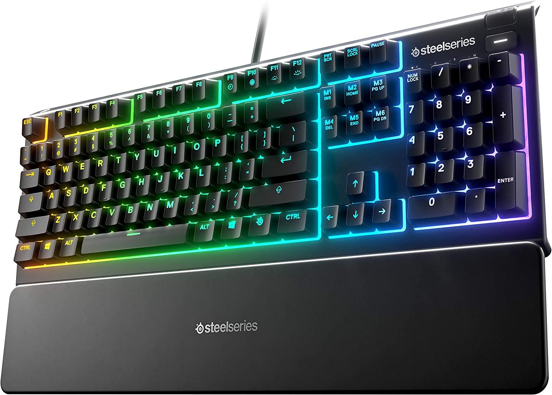 SteelSeries Apex 3 RGB Membrane Gaming Keyboard