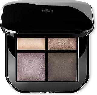 KIKO MILANO - Bright Quartet Baked Eyeshadow Palette 03 Palette with four baked eyeshadows for wet and dry use