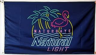 Fastbull Naturdays Natural Light Flag Banner 3x5Feet Man Cave