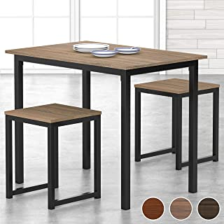 HOMURY 3 Piece Dining Set Small Dining Table Set for 2...