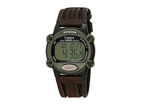 Timex Expedition Chrono Alarm Timer Full Brown Running Sport Watches 7293983