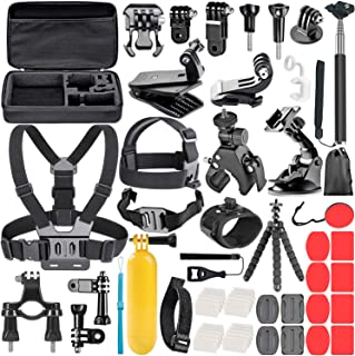 NEEWER 58-in-1 Accessory Kit for GoPro Hero 8 7 6 5 4 3+ Hero Session 5 Black AKASO EK7000 Apeman SJ4000 5000 6000 DBPOWER...