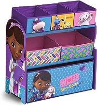 Delta Children 6-Bin Toy Storage Organizer, Disney Junior Doc McStuffins