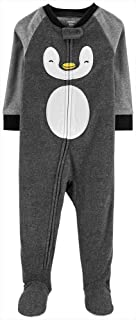 Carter's 男婴长袖连脚睡衣