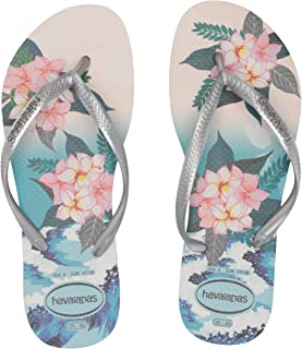 Havaianas Women's Slim Tropical Sunset Flip Flop Sandal
