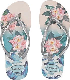 Havaianas Women's Slim Tropical Sunset Flip Flop Sandal