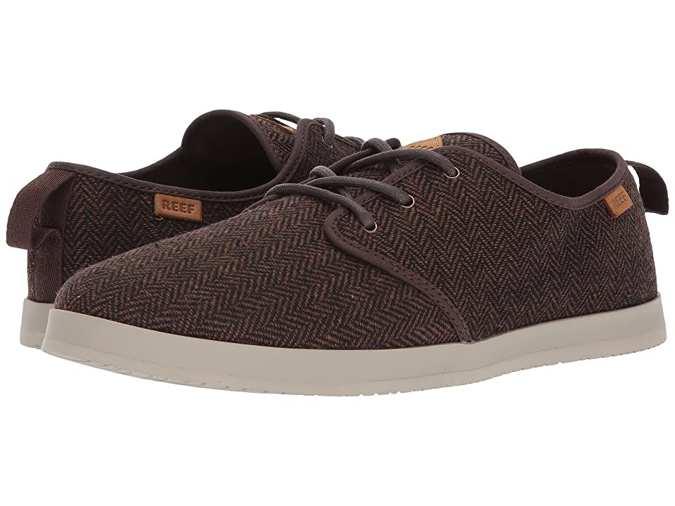 Reef Landis TX (Brown/Herringbone) Men