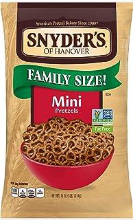 Snyder's of Hanover Pretzels, Mini Pretzels, Family Size 16 Oz