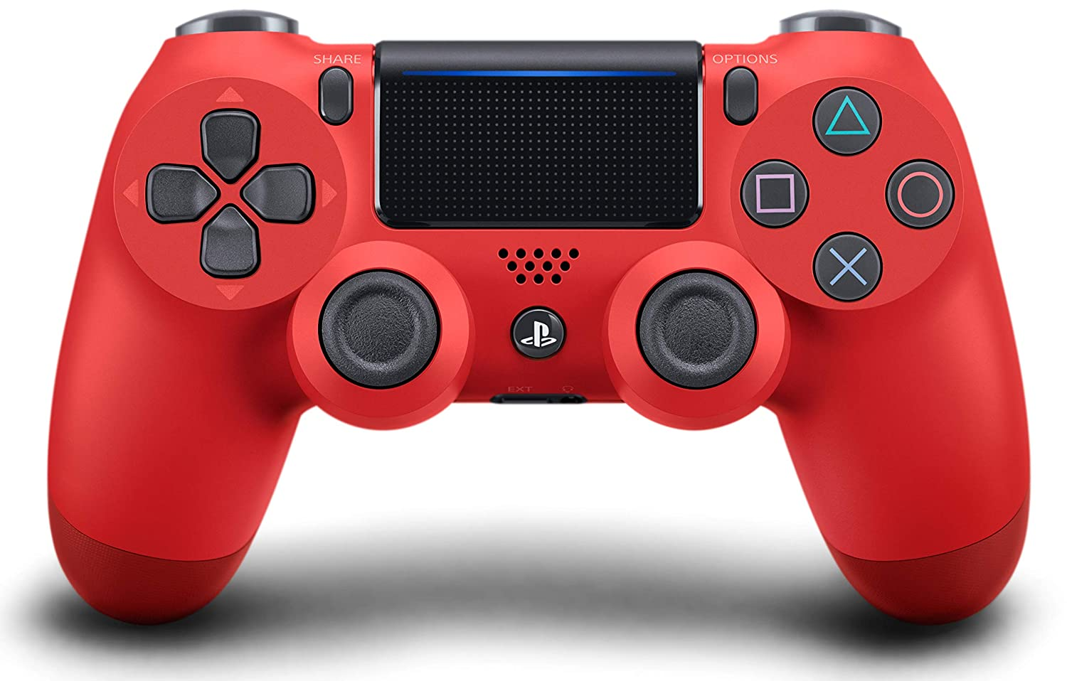 Amazon Com Dualshock 4 Wireless Controller For Playstation 4 Magma Red Video Games