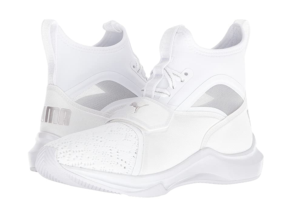 PUMA Phenom EP (Puma White/Metallic Beige) Women