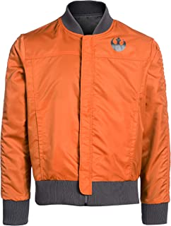 Musterbrand Star Wars Men Jacket Rebel Pilot Orange