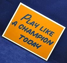 live like a champion today