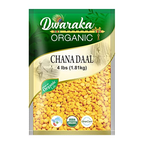 Lentils 8 lbs. Yellow Channa Daal Split Gram