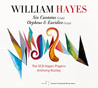 Hayes: 6 Cantatas - Orpheus and Euridice