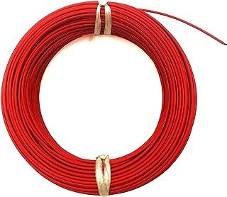 DZF697 1pc 100 mètres fluoroplastique 12K 33OHM avec Thermostat de câble de Chauffage en Fibre de Carbone Câble de Chauffa...