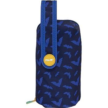 Negro y Amarillo Milan Kit Un Estuche con Contenido Jungle Estuches 19 cm