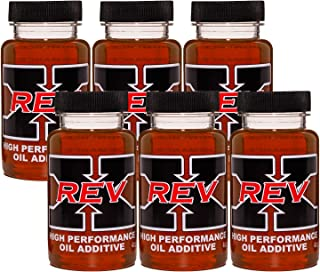 REV X High Performance Oil Additive (6) - Cleans & Protects All Engines