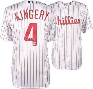 Scott Kingery Philadelphia Phillies Autographed Majestic White Replica Jersey - Fanatics Authentic Certified