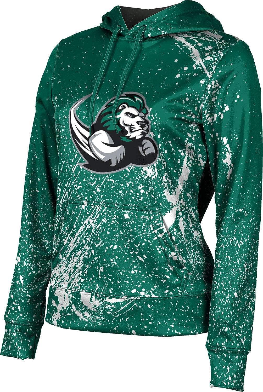 Slippery Rock University Girls' Pullover Hoodie, School Spirit Sweatshirt (Splatter)