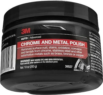 3M Chrome and Metal Polish, 39527, 10 oz , Pink: image