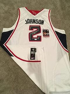 Joe Johnson Autographed Signed Official Swingman Jersey Hawks Nets Rockets JSA Coa