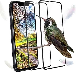 2枚 対応 iPhone 11 Pro Max ガラスフィルム XS Max ガラスフィルム 全面保護 フィルム 0.26mm/日本製素材旭硝子製/9H硬度/自動吸着/気泡防止/高感度/99%透過率/飛散防止処理 対応 アイフォン11 Pro ...