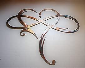 Infinity Heart Metal Wall Art -Always & Forever Infinity