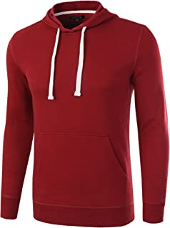 HETHCODE Men Classic Casual Fit Long Sleeve Lightweight Hoodie Sweatshirt Jacket