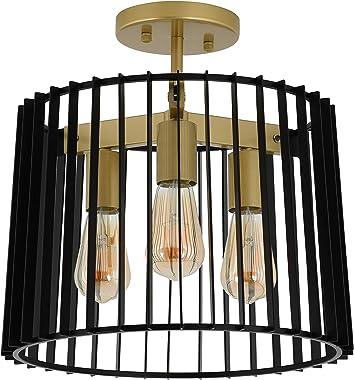 Artika SFM-GSB Gatsby - Lámpara de techo, color negro