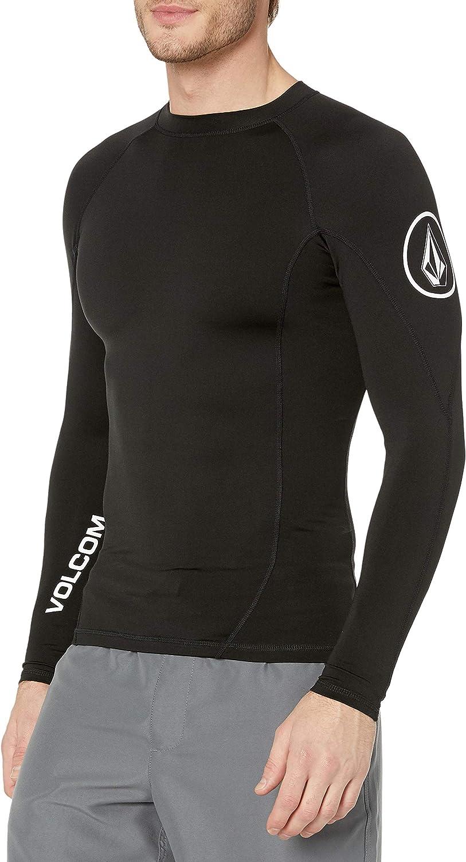 Volcom Men's Hotainer Long Sleeve UPF 50+ Rashguard
