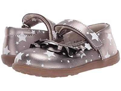 See Kai Run Kids Belle II (Toddler/Little Kid) (Pewter Metallic) Girls Shoes