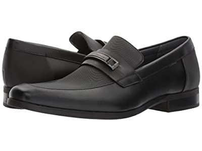 Calvin Klein Jameson (Black Soft Leather/City Emboss) Men
