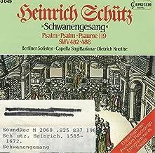 Schwanengesang, Psalm 119, SWV 482-488